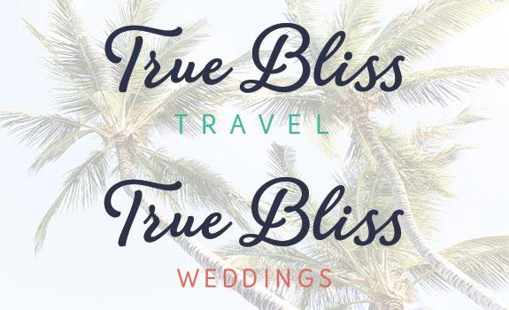True Bliss Travel's Secondary Logo