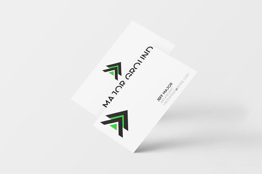 Major Ground Business Cards